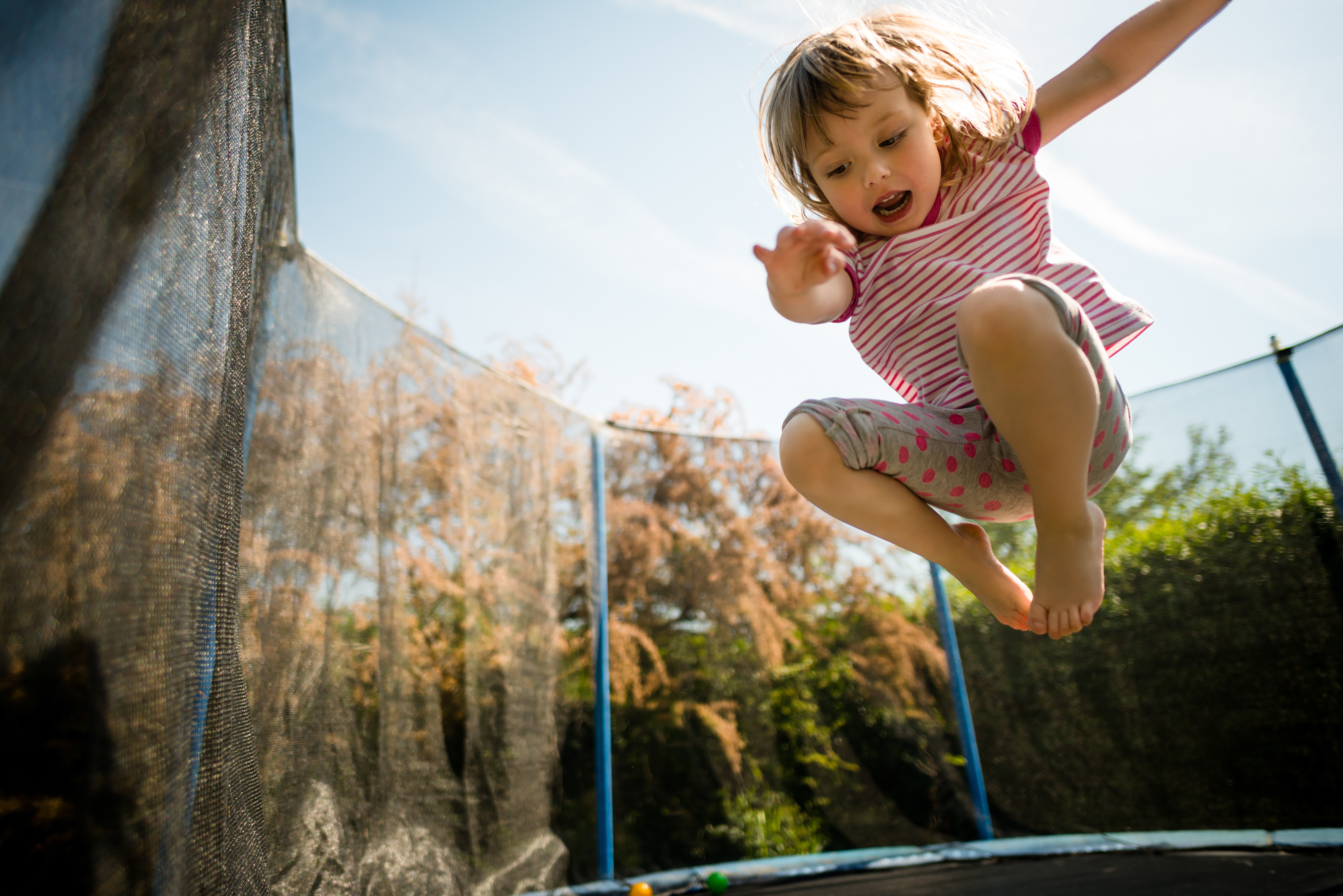 Trampoline for children – things to think about to avoid injury