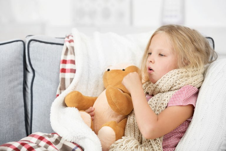 Sore throats and colds in children