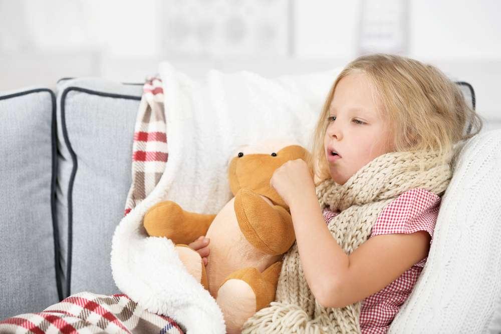 Ont i halsen och förkylning hos barn