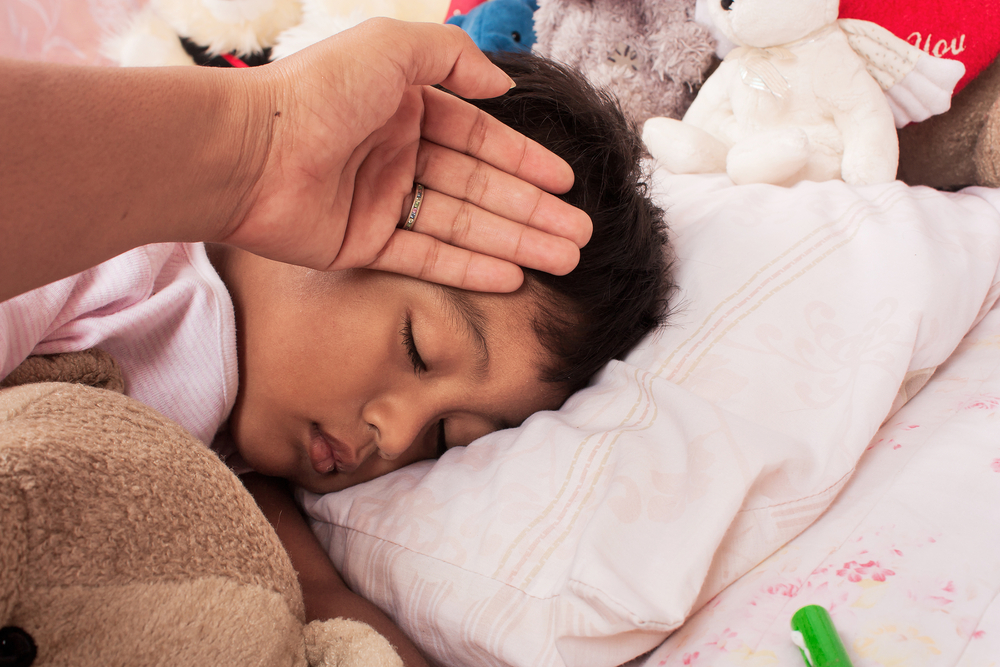 Influensa hos barn – symtom och behandling
