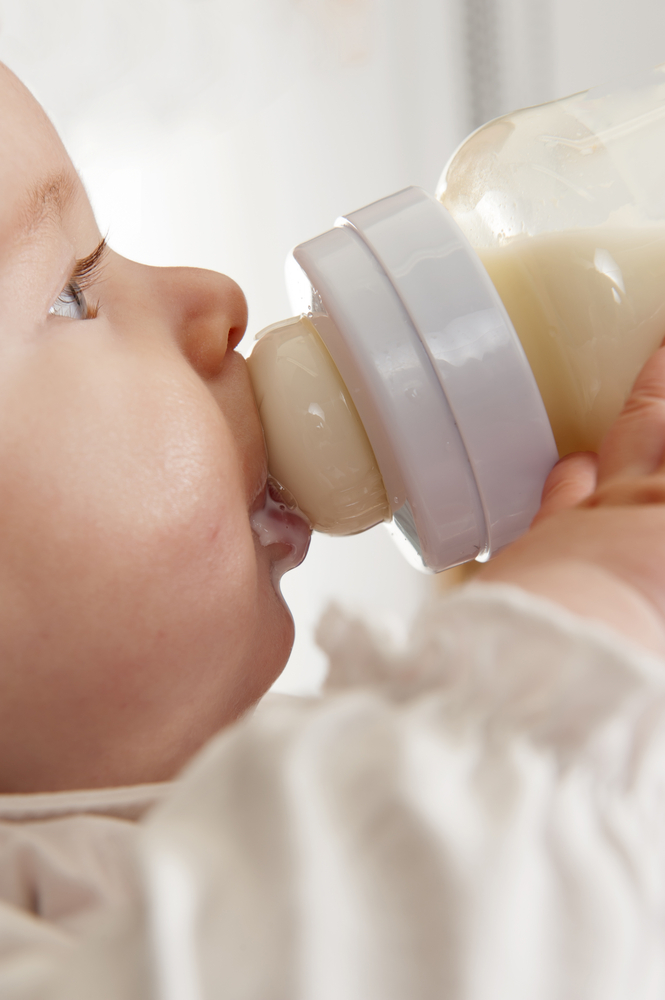 Milk protein allergy in babies and milk-free infant formula
