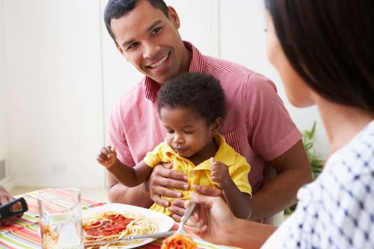 Nyttig mat för barn - spaghetti