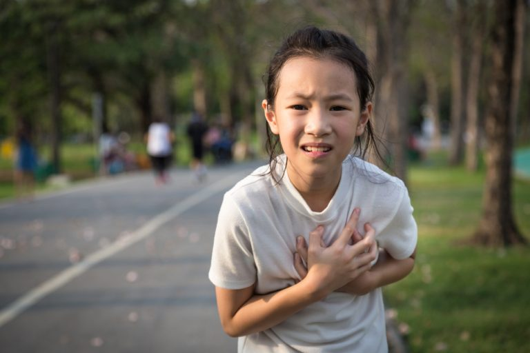 Chest pain in children – is it the heart?